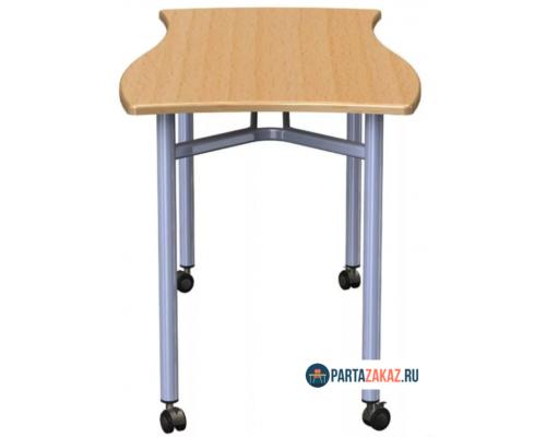 Стол фигурный на колесах для групповых занятий