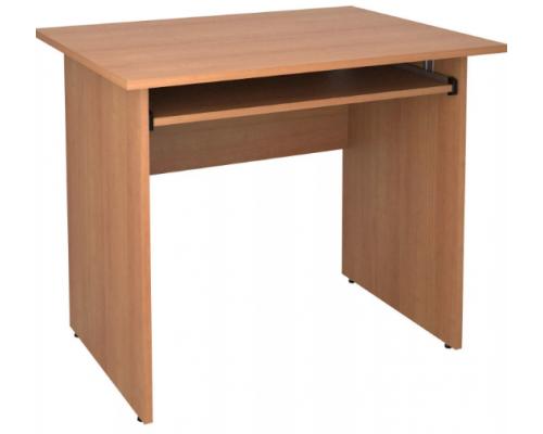 Стол компьютерный с полочкой под клавиатуру