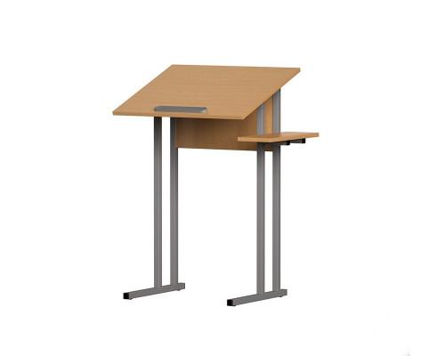 Стол для черчения и рисования с полочкой