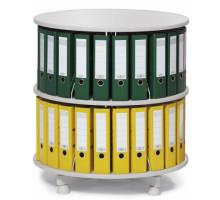 Вращающаяся колонна для файлов 2 этажа / индивидуально вращающиеся этажи