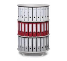 Вращающаяся колонна для файлов 3 этажа / индивидуально вращающиеся этажи