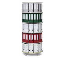 Папка вращающаяся колонна 5 этажей / индивидуально вращающиеся этажи