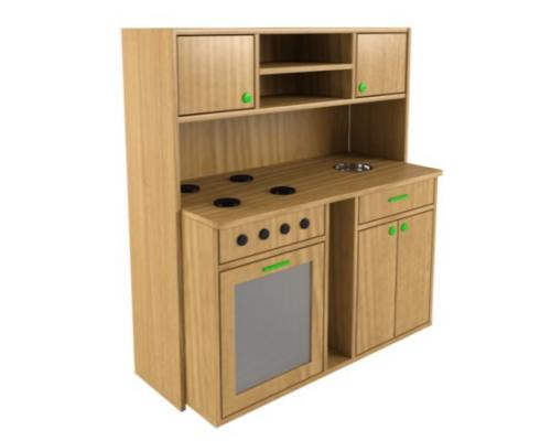 Детская игровая кухонная мебель