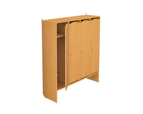Шкаф детский для одежды 4-х секционный ШО-4