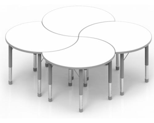 Столы ПАЗЛ для детского сада
