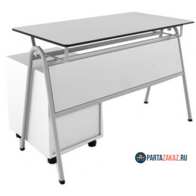 Стол для преподавателя  с тумбой из трех ящиков
