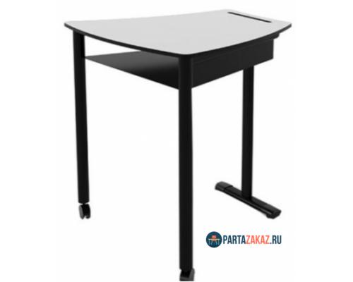 Комплект двухместная парта и 2 стула антивандальное покрытие