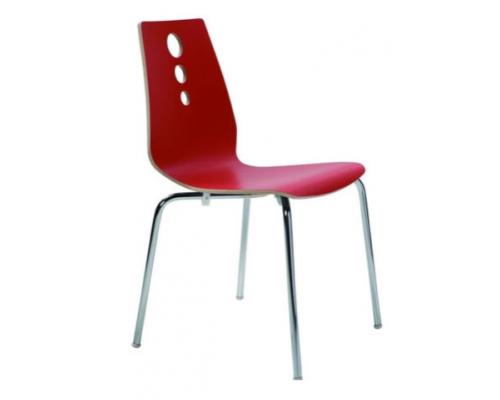 Стул MS03 ученический красный