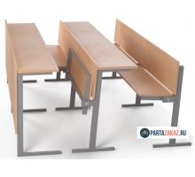 Комплект для аудитории двухместный с поднятием сидения