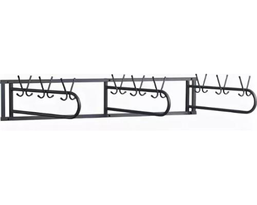 Вешалка гардеробная настенная поворотная на 48 крючков