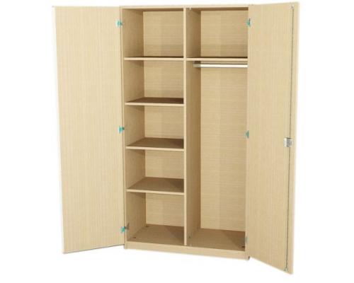 Шкаф для одежды комбинированный 2-х створчатый