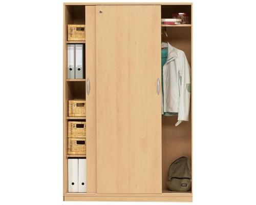 Шкаф купе комбинированный для документов и гардероба